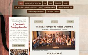 Musical Group Website