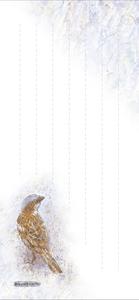 「すずめ'99-1」(1999年作)タテ型(中ページ)