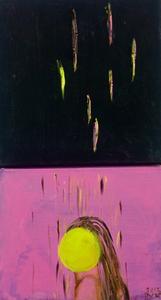 HAGELDUSCHE, 2013 , Diptychon je 20/20cm