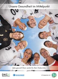 """Motiv 1 - Kampagne 2012 """"Lebe gesund! Dann senkst Du Dein Krebsrisiko"""""""