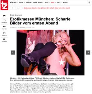 Erotikmesse München, TZ online, 15.03.2014