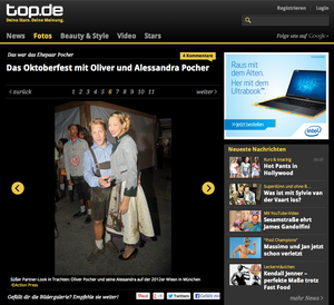 Oliver & Alessandra Pocher; TOP.de