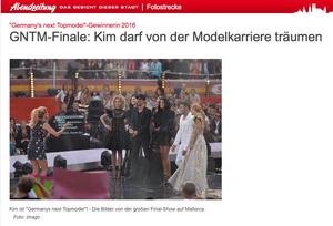 GNTM, Abendzeitung München