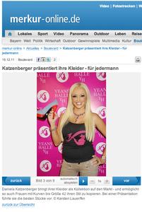 Daniela Katzenberger, merkur-online