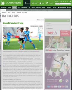 Nadine Kessler, VfL Wolfsburg online, 10.04.2014