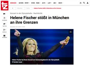 Helene Fischer, tz-online.de, 30.10.2014