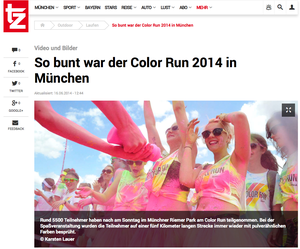 Color Run 2014, tz-online, 16.06.2014
