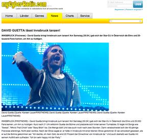 David Guetta, mycyberradio