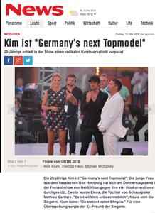 GNTM, news.de, 13.05.2016