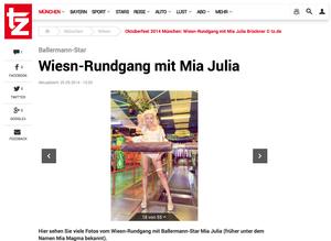 Mia Julia Brückner, tz-online.de, 25.09.2014