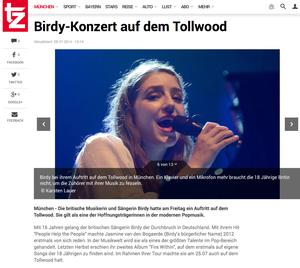 Birdy, TZ online, 28.07.2014