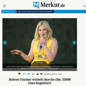 Helene Fischer, merkur-online, 14.06.2015