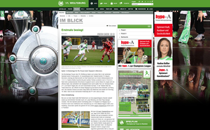 FC Bayern München - VfL Wolfsburg, VfL Wolfsburg online, 26.02.2014