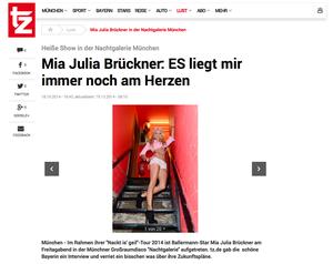 Mia Julia Brückner, tz-online.de, 18.10.2014