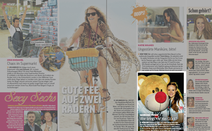 Barbara Meier; OK! Magazin 31/2013