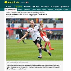 Alexandra Popp, sport.de, 22.10.2016