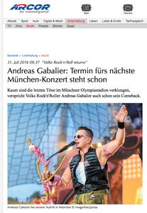 Andreas Gebalier, arcor.de, 31.07.2016