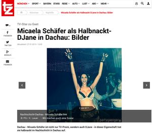 Micaela Schäfer, tz-online, 27.01.2014