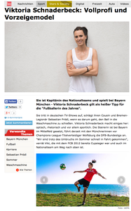 Viktoria Schnaderbeck, krone.at, 24.11.2014