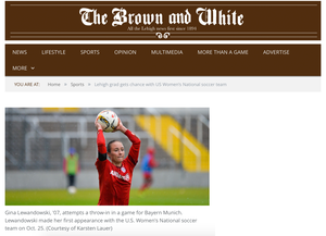 Gina Lewandowski, The Brown and White