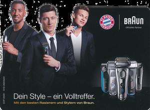 P&G, 2017, 05'2017, 'Braun', Silhouettenkarte, Version 1