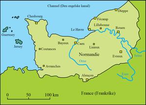 Limites de la Haute et basse Normandie