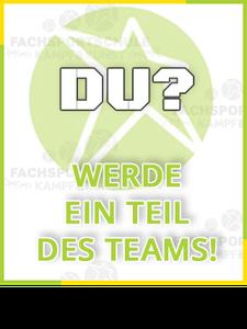 Auch du kannst ein Teil unseres Co Trainer Teams sein Banner