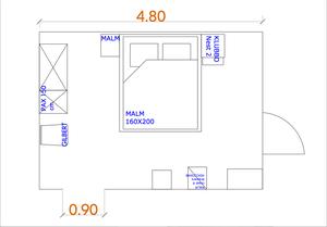 layout schlafzimmer