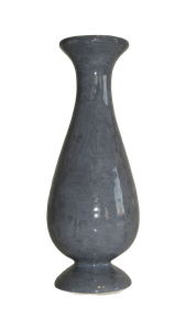 Soliflore sur pied gris Hauteur 17 cm