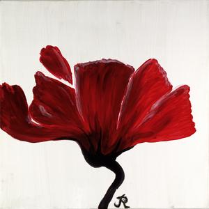 Blütenzauber, Acryl auf Leinwand