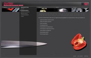 Dorfner Schleifmittelwerk - infragrau, gute Gestaltung in Zusammenarbeit mit Nickelworks & Rokumedia.