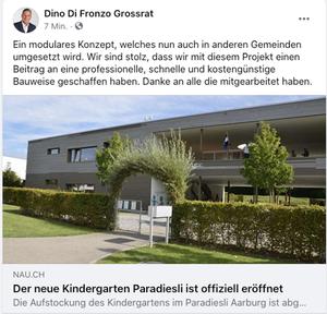 Einweihung Kindergarten