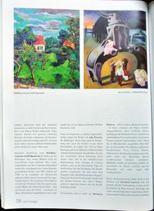 Ausstellungsartikel Matthias Laurenz Gräff in der Vernissage, Mai 2007