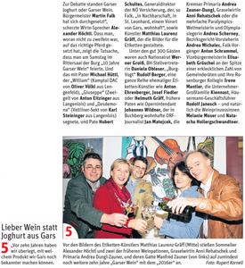 Pressebericht NÖN Horn (Woche 14)