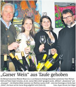 Pressebericht, Titelseite NÖN Horn (Woche 14)