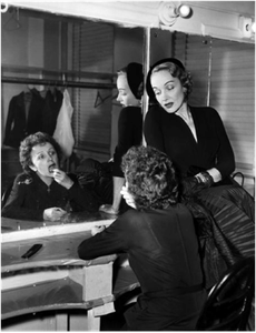 Marlene Dietrich and Edith Piaf