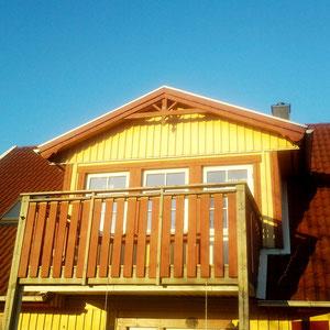 Referenzhaus Gelbes Schwedenhaus hier Modell Malmö 145 Holzhaus von Berg-Schwedenhaus