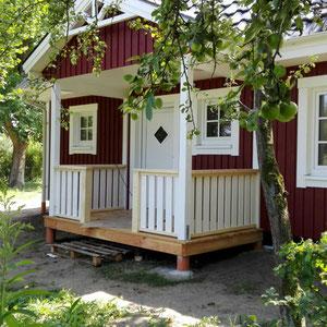 Referenz Nordkap Schwedenhaus Eingangsbereich