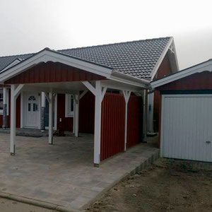 Referenzbeispiel Einzelcarport von Berg-Schwedenhaus