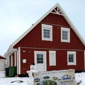 Referenz Malmö 145 Schwedenhaus in Rot von Berg-Schwedenhaus