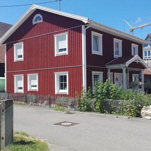 Referenz Holzhaus Nordkap Stadtvilla von Berg-Schwedenhaus