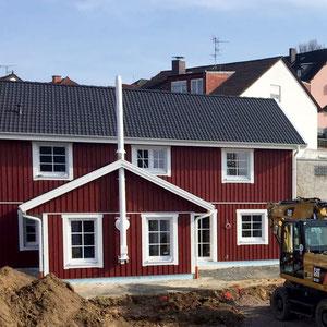 Referenz Nordkap Holzhaus von Berg-Schwedenhaus