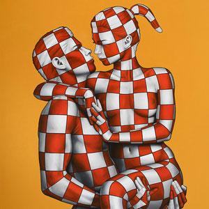 Danilo Martinis, Oil on canvas, 100x80 cm