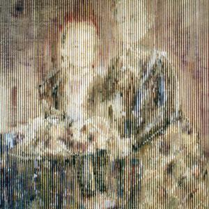 Schwestern, 90x110cm, Acryl auf Wellpappe