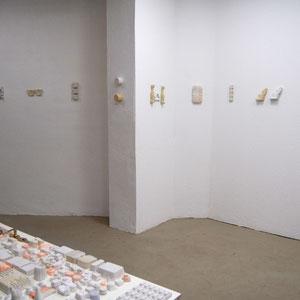 Installation Berlin, Gipsobjekte, 2011