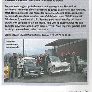 Détail de l'article LVA Achenheim 1er Mai 2013
