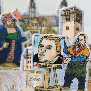 Lucas Cranach malte M.Luther