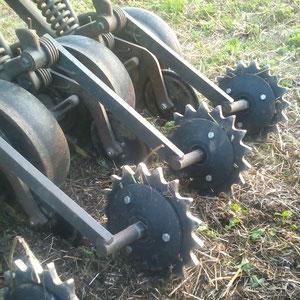 20Point Crumbler Schließräder und neue Needham V8 Andruckrollen