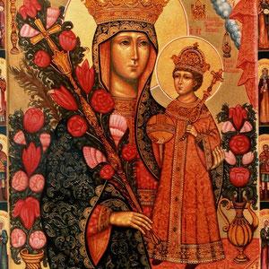 Образ Пресвятой Богородицы Неувядаемый цвет.