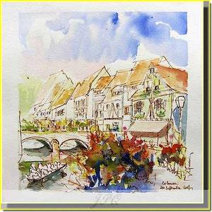 * 16a Colmar, la petite Venise,village alsace
